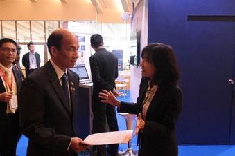 インドネシアMEMR副大臣に日尼ビジネスフォーラムを紹介