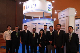 中央はASEAN Center for Energy(ACE)局長 Dr.Sanjayan