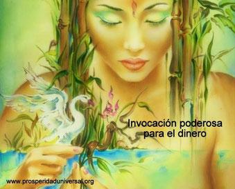 INVOCACIÓN PODEROSA PARA EL DINERO -  PARTE II -PROSPERIDA UNIVERSAL  -www.prosperidaduniversal.org