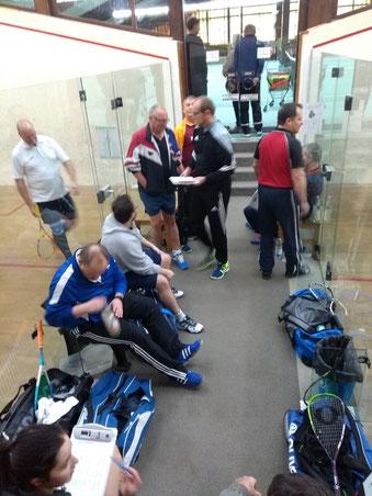 Dorsten Squash Verein Ligabetrieb