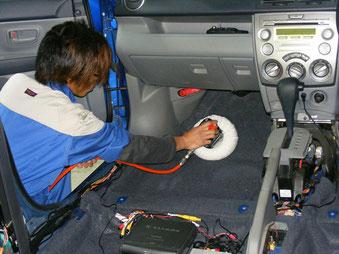 シート脱着室内マット洗浄|車内の特殊クリーニング【カーフレッシュ新潟】