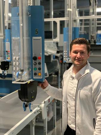 David Ruszkiewicz,Prokurist & Betriebsleiter der Fliegel Nord Textilservice GmbH & Co. KG