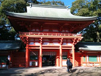 氷川神社 楼門