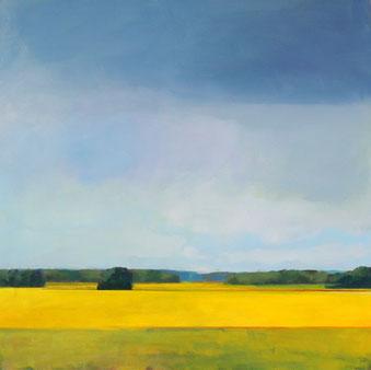 rapeseedfield -Kai Hoge 80x80 cm, 2017  verkauft