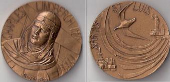 Medaglia per Charles Lindbergh.
