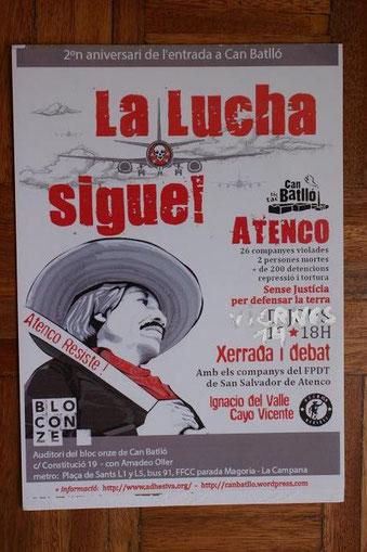 Cayo Vicente e Ignacio del Valle, cartel de Barcelona, España