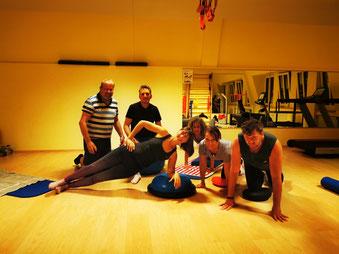 Präventionskurs-Ran Rücken-Rückentraining