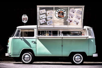 Bar Bus Cocktailservice vw t2 Bulli mobile bar