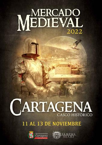 Programa del Mercado Medieval Modernista de Cartagena