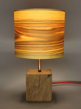 Upcycling Tischlampe Alea