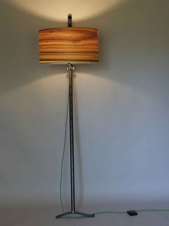 Upcycling Stehlampe Levo