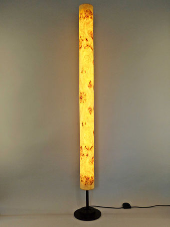 Upcycling Stehlampe Columna