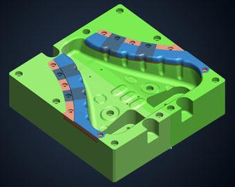 Tebis Autocad ProE Konstruktion CAD CAM