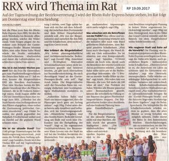 Rheinische Post 19.09.2017