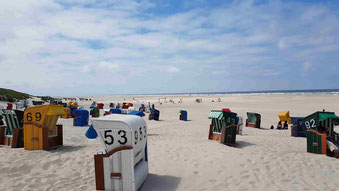 Juist Strand - Nordsee - Ostfriesische Inseln - Nordseeküste