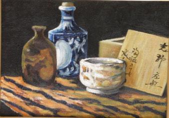 陶器 油彩 4号