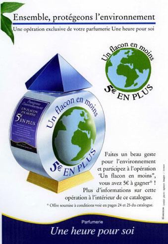 Opération de communication grande distribution et recyclage - DEFI INDUSTRIES - Agen