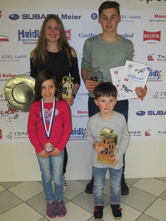Siegerehrung Isar Vils Cup