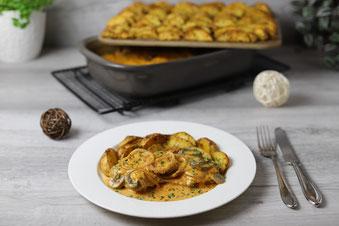 Lasagne in der Ofenhexe aus dem Grundset von Pampered Chef im Onlineshop