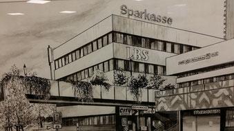 Hauptstelle der Sparkasse in Bergkamen