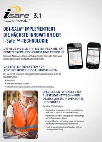 i-safe Capital Safety Sicherheitssystem