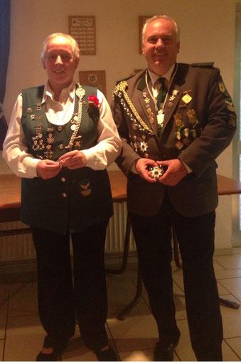 Das neue Kaiserpaar Birgitt Prüß und Marco Lührs (Foto: P. Brockmann)