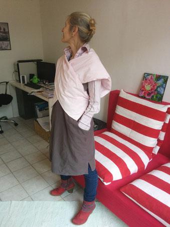 haute couture mal anders, Idee und Ausführung: Beate Gernhardt, Foto: Henriks Porciks