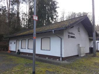 Das Vereinsheim der Freilichtbühne Bonbaden