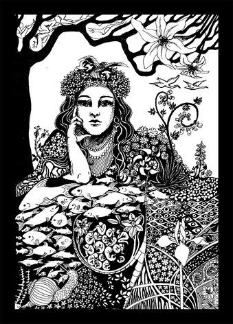 Postkartenmotiv 1 - Nina Salpius