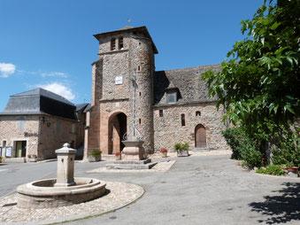 Mairie de La Bastide l'Evêque, Le Bas Ségala