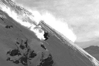 Ein genialer Tag am Arlberg, 18/01/2016. Wegen der Masse an Freeridern sind wir an den Sonnenkopf ausgewichen. Wie genial wäre es, ohne diesen Powder-Stress die Berge geniessen zu können ...