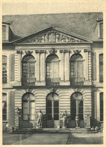 Fig 2 - Hôtel de Chepy - Abbeville, Archives municipales