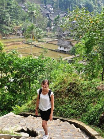 Kampung Naga tussen Garut en Pangandaran