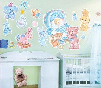 Встреча (выписка) из роддома мамы и ребёнка. Оформление и декор комнаты и машины для встречи мамы и малыша из роддома.