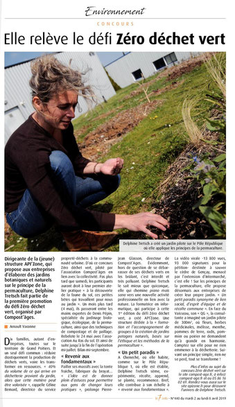 API'zone - Article le 7 à Poitiers Avril 2019