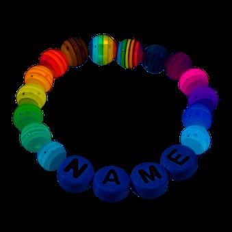 Babyarmband als Geschenk zur Geburt, Geburtstagsgeschenk oder Taufgeschenk