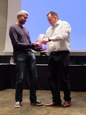 Championship Gewinner Raj Jansari (links) aus England