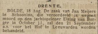 Nieuwsblad van het Noorden 19-08-1922