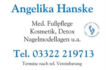 Werbetafel A.Hanske
