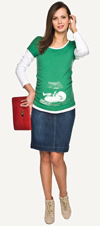 "Torelle Maternity Blouse ""Bonita"" - Green"