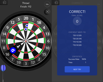 Memorize all darts checkouts with a fun free Android app.