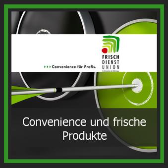 Einkauf Lieferant Logo Frischdienstunion
