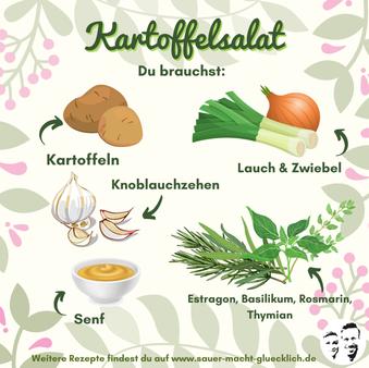Probiotik Power für deinen Kartoffelsalat - Ein einfaches Rezept