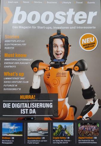 Assistenzroboter Schweiz Booster Magazin