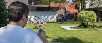 Geistheilung, Seminar, Ausbildung, Entspannung in der Pause