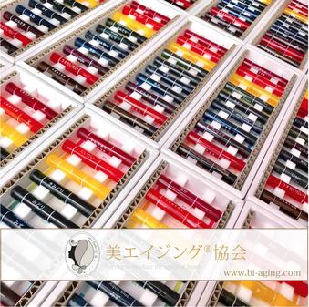 コクヨ透明クレヨンぬり絵アートセラピーワークショップ