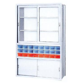 器械戸棚(両引き戸式)