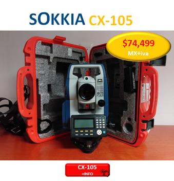 estacion total sokkia cx105