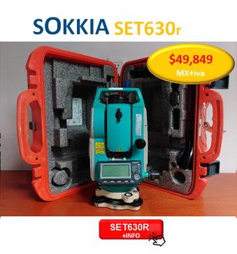 estacion total sokkia set630r