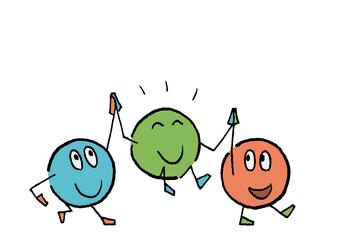 Tobias Willa; Illustration; Zeichnung; Kinder; Animation; Aktivitäten; Kindertagesstätte; KITA; Crèche; UAPE; Dessin; Logo; Erscheinungsbild; Les P'tits Bacounis; Figuren; Figures; Farben; Vex; Wallis; Festlich; Weihnachten; Noël; Fasnacht; Carnaval;